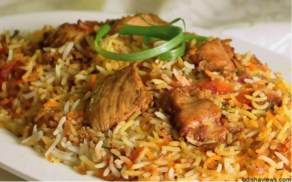How to make chicken biryani odisha views for Chicken biryani at home