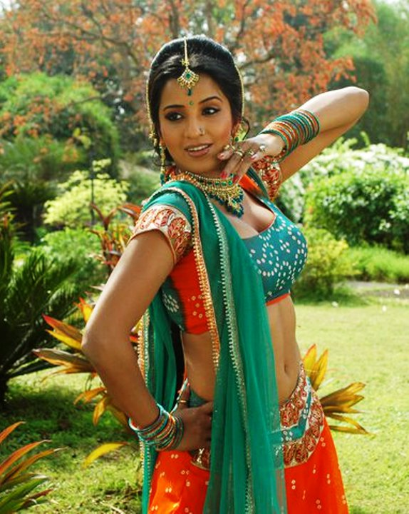 Indian Punjabi girl dancing