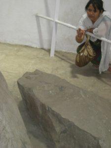Two part of Junagadh Rock Edict