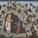 God Vishnu Appears to Muchhukunda in a Cave