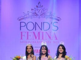POND'S FEMINA MISS INDIA KOLKATA 2013