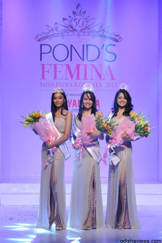 POND'S FEMINA MISS INDIA KOLKATA 2013