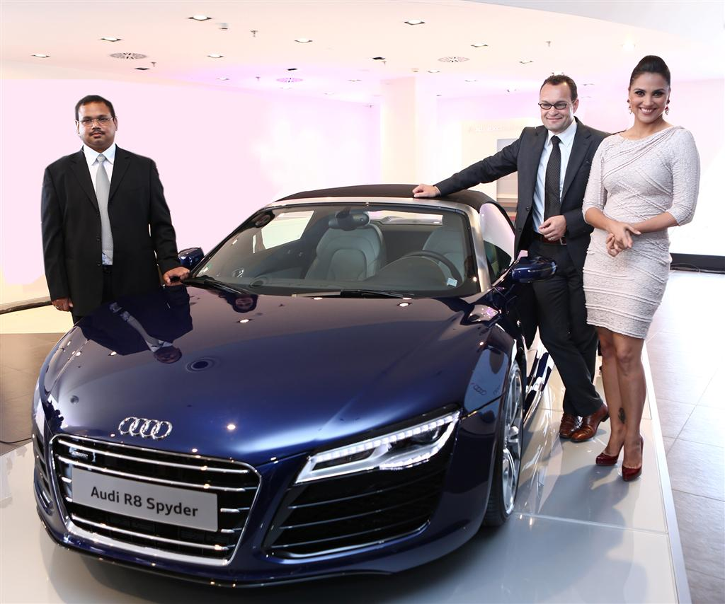 Audi India The Luxurious Car Making Company Opens Showroom