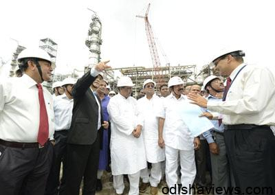 Petrolium_Mminister_at_Paradip_Refinery_Project_12
