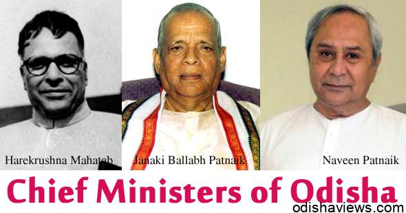 Chief-Ministers-of-Odisha